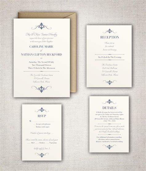 Traditional Wedding Invitations Templates traditional wedding invitation wording wedding invitation templates