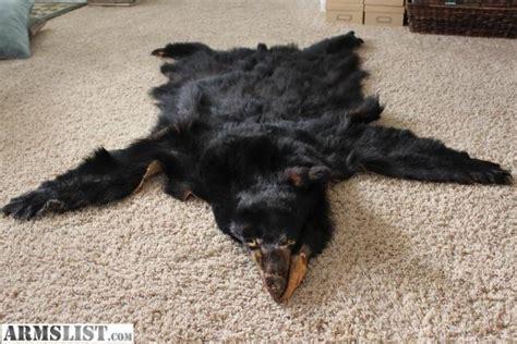 burt bearskin rug armslist for sale trade skin rug pelt great for the den or cabin