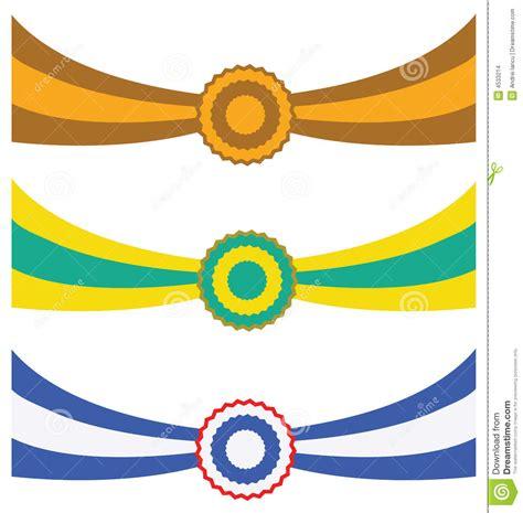 Ribbon Three three ribbons stock images image 4533214