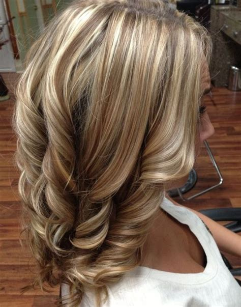 highlight low light brown hair 60 great brown hair with blonde highlights ideas