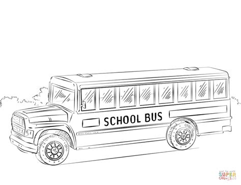 color of school buses school coloring page free printable coloring pages