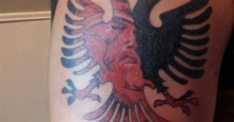 albanian flag tattoo albanian tattoos myspace flags