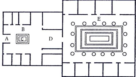 plan of a roman house the classics pages antony kamm s the romans 6 4 domestic architecture