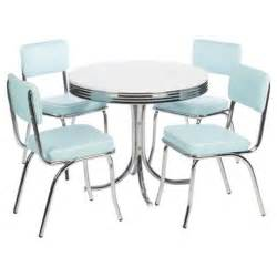 Tesco Dining Table And Chair Set Buy Rydell 4 Seat Dining Set With Chairs Blue From