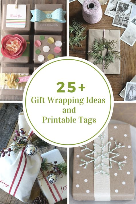 gift wraps ideas gift wrapping ideas printable gift tags the idea room