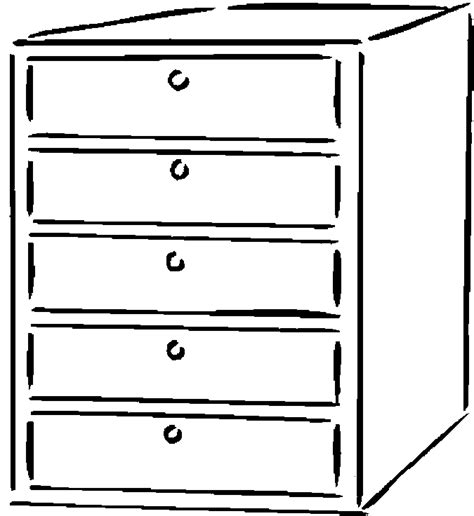 Coloring Page Of A Dresser | dresser coloring page www pixshark com images