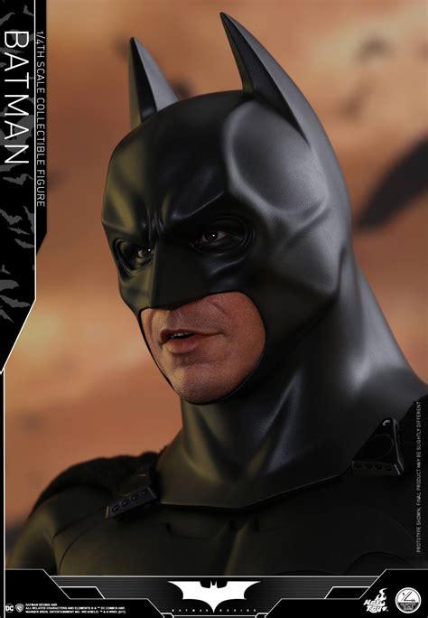 batman begins hot toys dark knight trilogy 1 4 scale figures batman