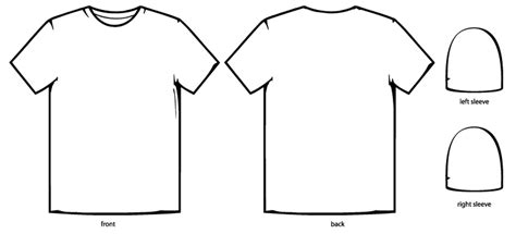 shirt design template shirt template cliparts co