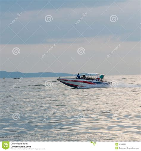 speed boat driving motor boat driving motion speed boat stock image image