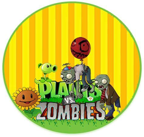 imagenes de cumpleaños zombie kit imprimible candy bar plantas vs zombies para