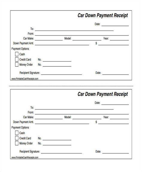 17 general receipt sles templates psd format download