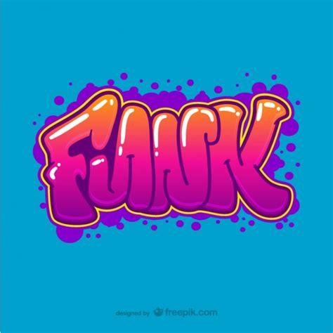 numeros en letra graffiti newhairstylesformen2014 com vector de graffiti funk descargar vectores gratis