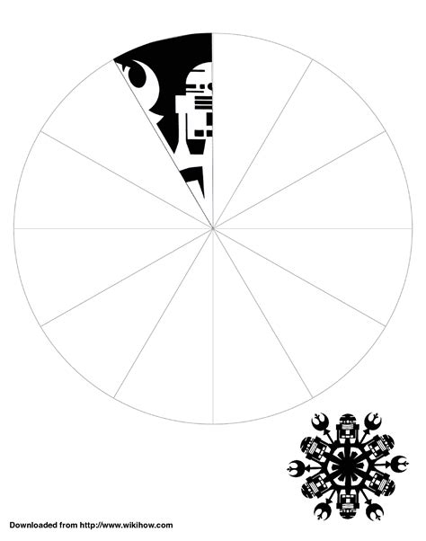 printable star wars snowflake templates printable r2 d2 snowflake template wikihow starwars