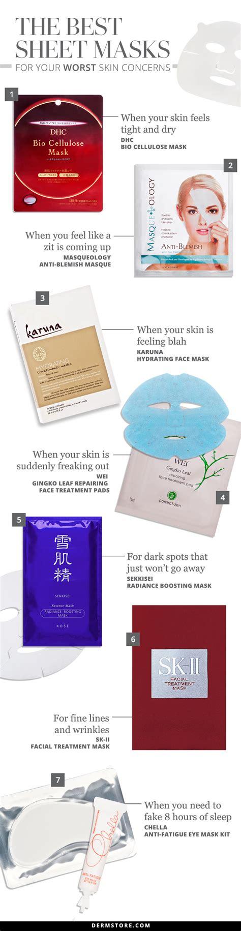 15 best sheet masks for your face top face sheet mask reviews best sheet masks for your worst skin concerns dermstore blog