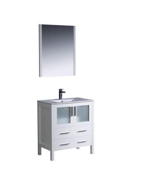 white bathroom vanity 30 inch 30 inch single sink bathroom vanity in white uvfvn6230whuns30