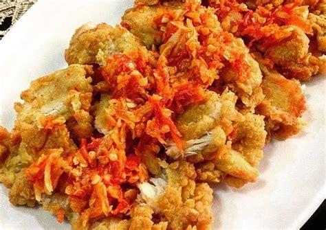 resep  membuat ayam geprek original  pedas