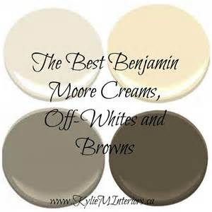 benjamin paint the best benjamin moore neutral colours cream brown off white kylie m interiors