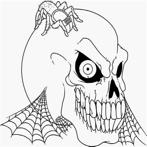 halloween scary masks coloring pages az coloring pages