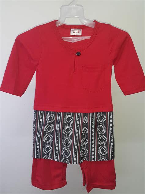Baju Jumper Jumpsuit Bayi Baru Lahir New Born baju baby boy jumper baju melayu sing songket classic baby