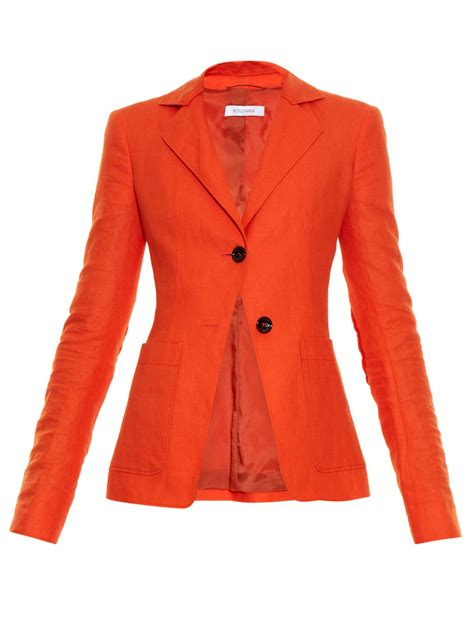 Blazer Orange orange blazer for hardon clothes