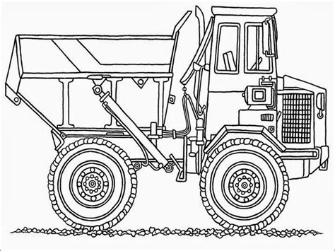 Dump Truck Coloring Pages Printable Realistic Coloring Pages Dump Truck Coloring Pages