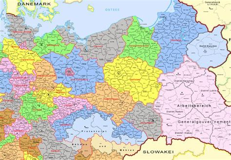 map of germany 1944 map of germany and poland