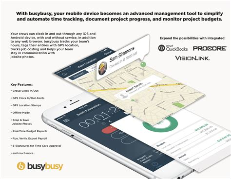 mobile time tracking mobile time tracking for builders with busybusy at nahb