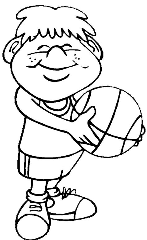 printable coloring pages exercise exercising free colouring pages