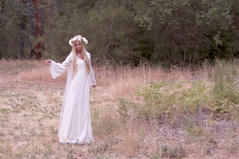 bohemian wedding dresses ivory gown crochet hippie