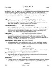 resume relevant coursework free resume templates