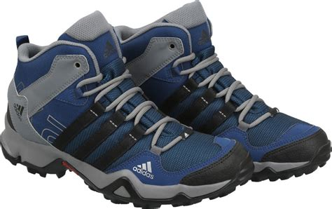 Adidas AX2 MID Outdoor Shoes   Buy MYSBLU/CBLACK/TECSTE/MYSB Color Adidas AX2 MID Outdoor Shoes