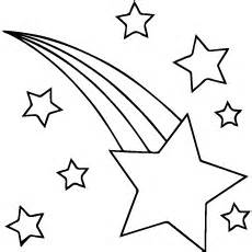 For Star Coloring Pages To Print Page sketch template