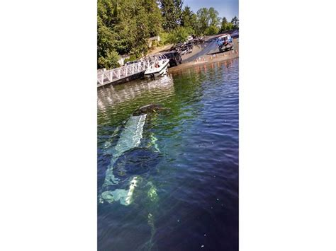 public boat launch american lake truck sinks in american lake boating accident lakewood