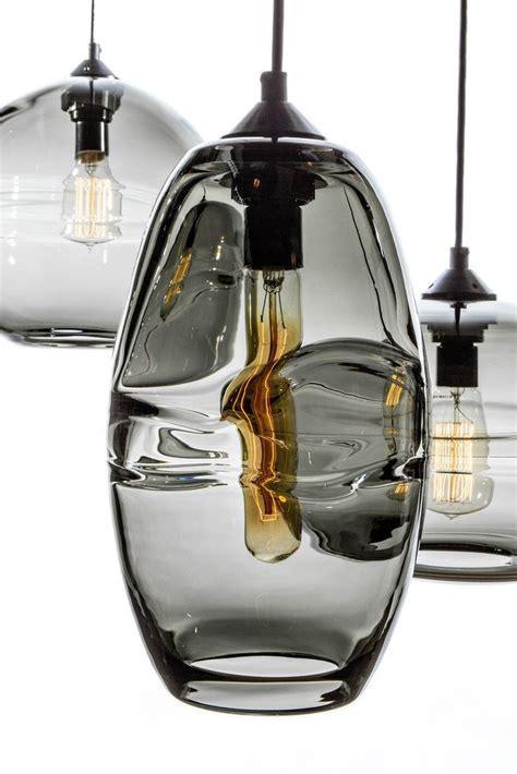smokey glass pendant light hanging smokey glass light fixture pendant interiors