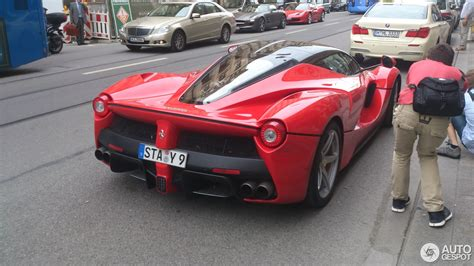 Ferrari Shop M Nchen by Ferrari Laferrari 6 Mai 2014 Autogespot