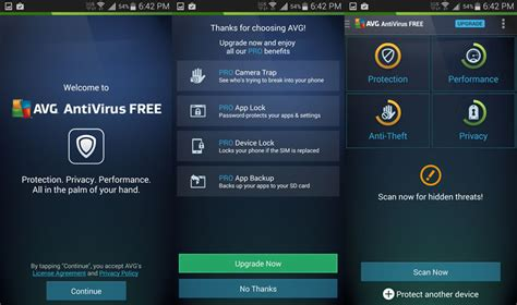 free avg for android best antivirus solution avg antivirus free for android