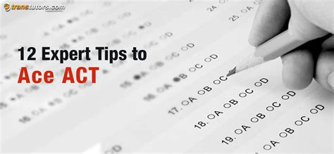 tips for the science section of the act 12 expert tips to ace act transtutors blog