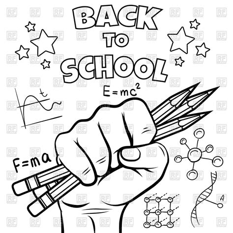 Free Coloring Pages Back To School