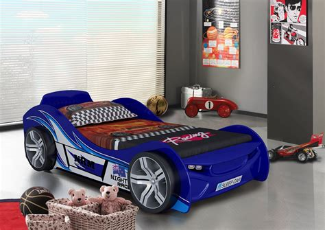 race car beds for boys 3ft single girls princess carriage bed or boys racing car bed pink blue or red ebay