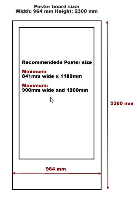 Bor Standar poster board 187 standard size poster board poster template frame and background sles