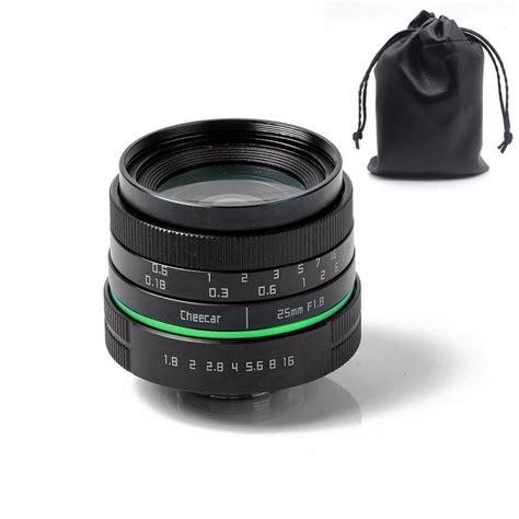 25mm F1 7 Aps C Cctv Lens Green Circle Sony Alpha Nex new green circle 25mm aps c cctv lens for sony nex