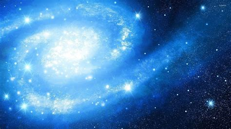 wallpaper blue beautiful beautiful blue galaxy wallpaper space wallpapers 48592