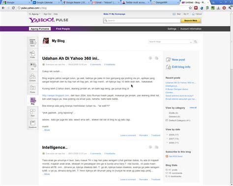 blogger yahoo import blog yang di yahoo ah aespe s words