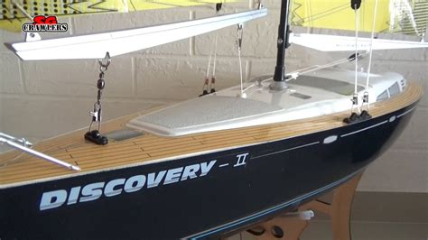 sailboat rc hobbyking discovery ii sailboat 620mm arr rc boat
