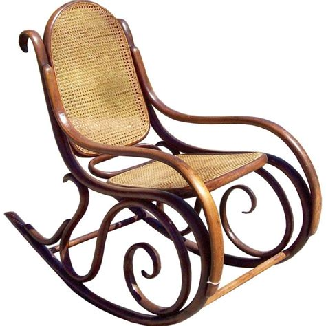 vintage thonet bentwood rocking chair at 1stdibs photo rocking chair