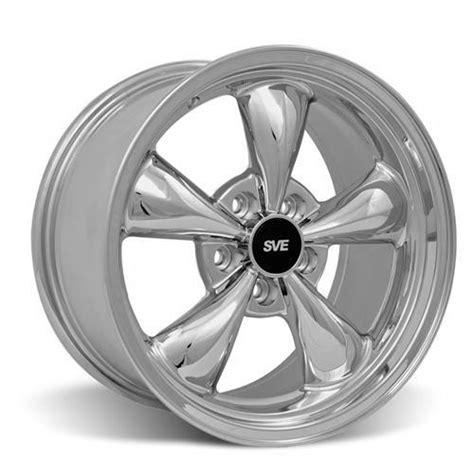Wheels 40 Ford Item 694 mustang bullitt wheel 17x9 chrome 94 04 lmr
