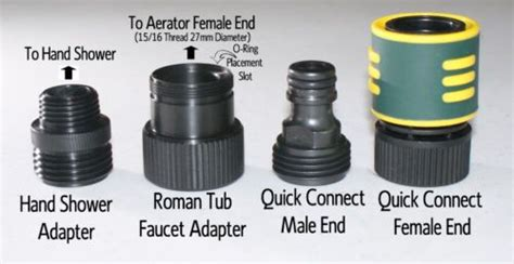 Connect Faucet Adapter by Details About Add A Shower Tub Faucet Adapter Kit