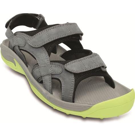 golf sandals crocs xtg lopro golf sandal mens charcoal citrus at
