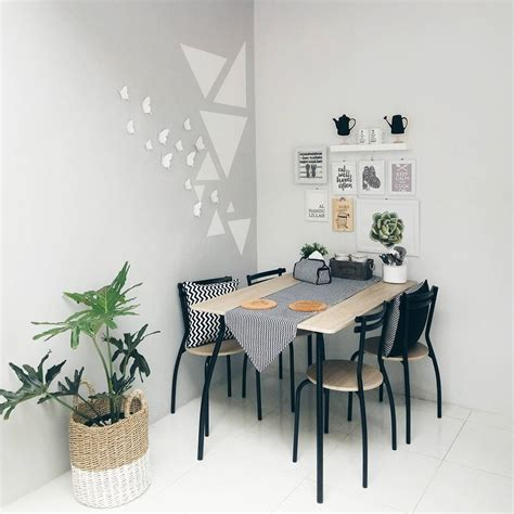 desain ruang makan minimalis sederhana terbaru
