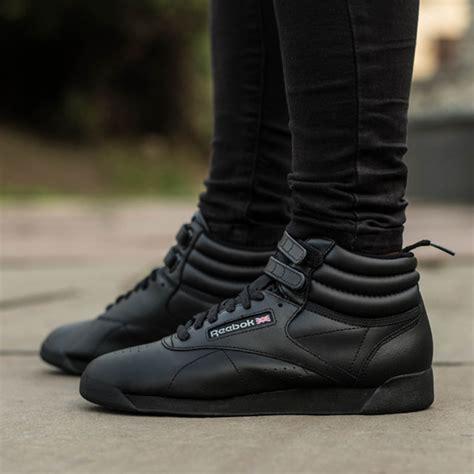 Reebok Free Style High Black sneaker shoes reebok freestyle hi 2240 best shoes